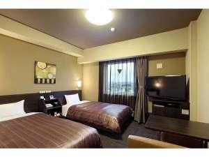 コンフォートツインルーム◆ベッドサイズ110×200(cm)マットレスパッドはエアウィーブを導入