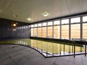 【大浴場】士別温泉の源泉かけ流しの名湯です。
