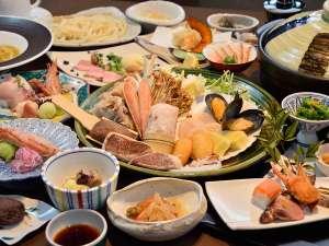 『コタン鍋』をはじめ、北海道の味覚が満載