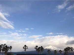 雪化粧の桜島(H29.2.11撮影)