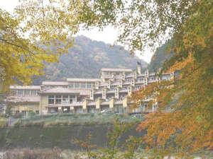 雙津峡温泉 錦パレス