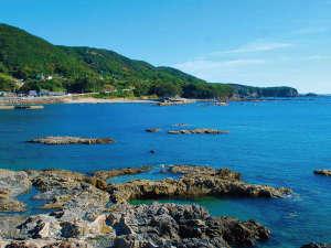 海のお宿から見える景色