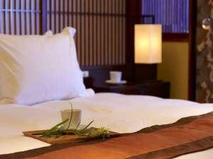 【シモンズ社製ベッド】お部屋のベッドは全室シモンズ社製ベッドをご用意