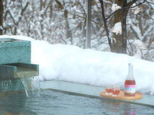 【冬の醍醐味】雪見風呂