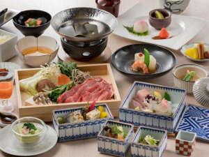 【料理】高千穂会席(プレミアム専用夕食:部屋食)