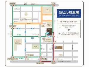提携駐車場案内地図