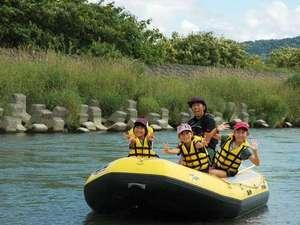 赤ちゃんでも参加でき、家族で楽しめる【スポートピア/のんびり川下りツアー】