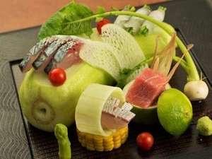 季節の移ろいに合わせたその時一番美味しいものをご提供いたします