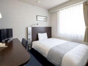 ◆ダブルエコノミー◆13平米◆ベッド幅140cm×1台◆