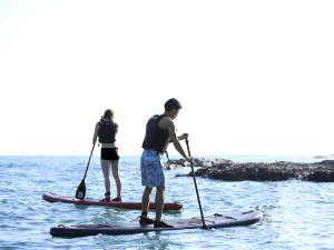 【SUP】たっぷり海を満喫できるマリンスポーツをご用意しております