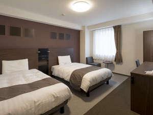 ◆ツインスタンダード1◆約21~24平米、123cm幅のベッド×2台◆