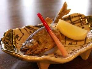 川魚の焼き料理