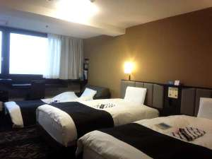 トリプルルーム(ツインルーム +簡易ベッド90cm)