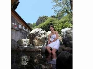 5種類の貸切露天風呂を<無料>でご利用頂けます!!新緑の絶景は格別です!癒されます!