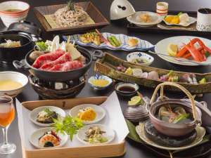 【夕餉】~旬替わり会席~日本海の海の幸を存分にご堪能頂けます♪
