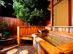 露天風呂付き離れ【優湯亭】和洋室〈A1type〉/つばき 露天風呂