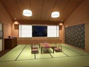 新レストラン棟2階には15畳の広々利用できる和室が誕生!