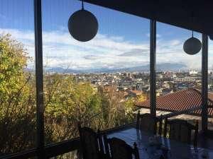 レストランからの風景です。