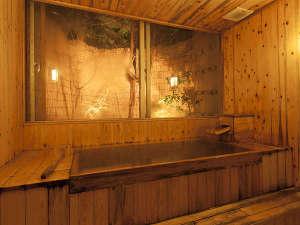桧の家族風呂