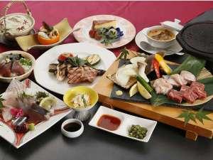 薩摩郷土premium料理『薩摩黒三極』コース♪