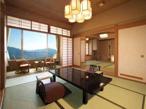 【最上階8F】三間・山々を望む特別客室