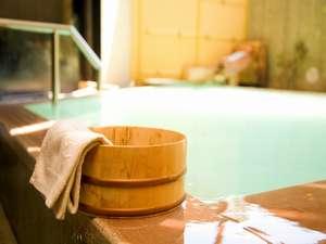 お風呂では日光市で唯一2種類の泉質をお楽しみいただけます。