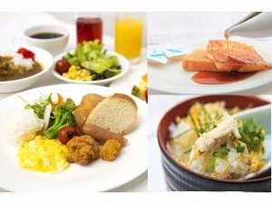 大人気の朝食バイキング♪約30種類のメニューのオススメは奄美の鶏飯や絶品カレー!!