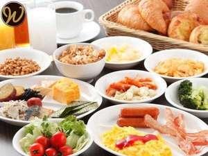 ビュッフェ形式なので、お好みの朝食をお召し上がりいただけます。