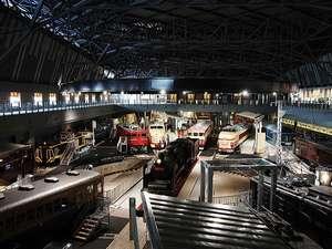 鉄道博物館へも、公共交通機関にて約10分の好立地 ※写真提供 鉄道博物館