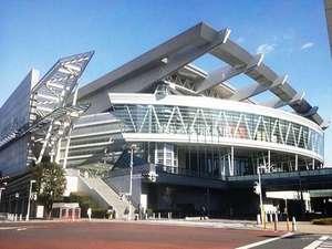 多くのライブコンサートが開催される『さいたまスーパーアリーナ』は、大宮駅より電車で2分!