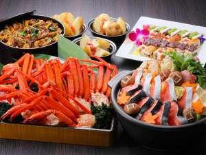 【12/1~2/28】カニ食べ放題&冬の北海道フェアと牡蠣のごちそう食べ放題 イメージ