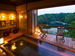 ■貸切露天風呂■日本百景を2人でゆっく~り眺め、お肌スベスベの海洋深層水に包まれ最高のひとときを・・