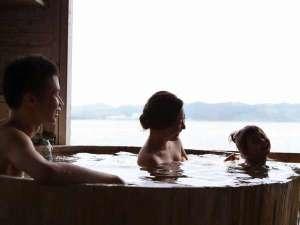 貸切露天風呂「金鱗」