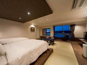 8月1日オープン!4F「鹿子」客室 広々とした空間でごゆっくりとお寛ぎください♪