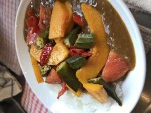 ハーフ野菜カレー