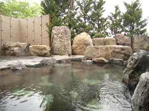 *天然温泉でのんびりと疲れを癒してください。