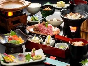 ■山形牛陶板焼き会席膳