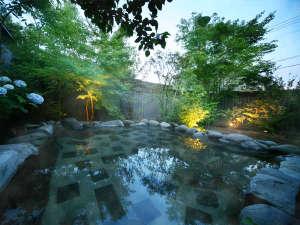 開放的な空間に緑の融合。「夜更けの深い青」も、「朝焼けに白む青」も、心を打つ美しさ――