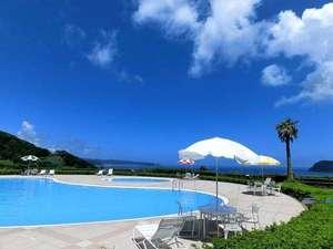 夏休みは海の見えるプールで泳ごう♪期間7/14~8/31 時間:9:00~18:00