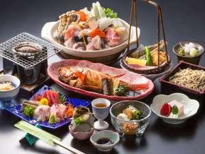 日立を中心とする茨城県北産の贅沢な食材を使った「常陸の宴プラン」茨城県北の美味しいがたっぷり♪