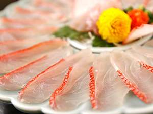 【金目鯛】鮮度が良いから透き通る質感(3人盛イメージ)