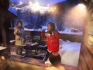 露天風呂&BBQは実は冬が最高にオススメ!!