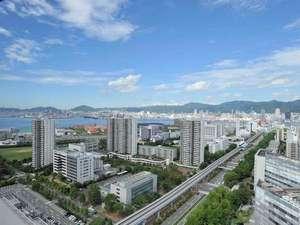 本館高層階から見える神戸の街並み
