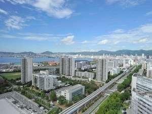 本館高層階 街側の眺め
