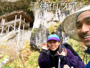 三徳山ツアーは1名~予約OK。森林セラピー資格も持つガイドが歴史や自然もご案内します。