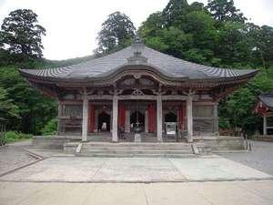 山岳信仰に帰依する修験道の修行道場として栄えた大山寺。