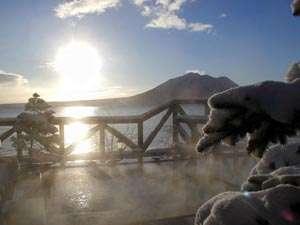 ■支笏湖の雄大な冬景色をご覧いただけます。