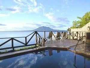 ■展望露天風呂:支笏湖一望の眺望と天然温泉をお愉しみ下さい