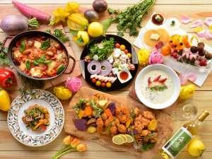 ◆春の彩りバイキング/海鮮エスニックサラダや、トマト煮込みなど、北の春の恵みを堪能!