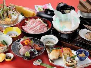 春の常楽館料理例